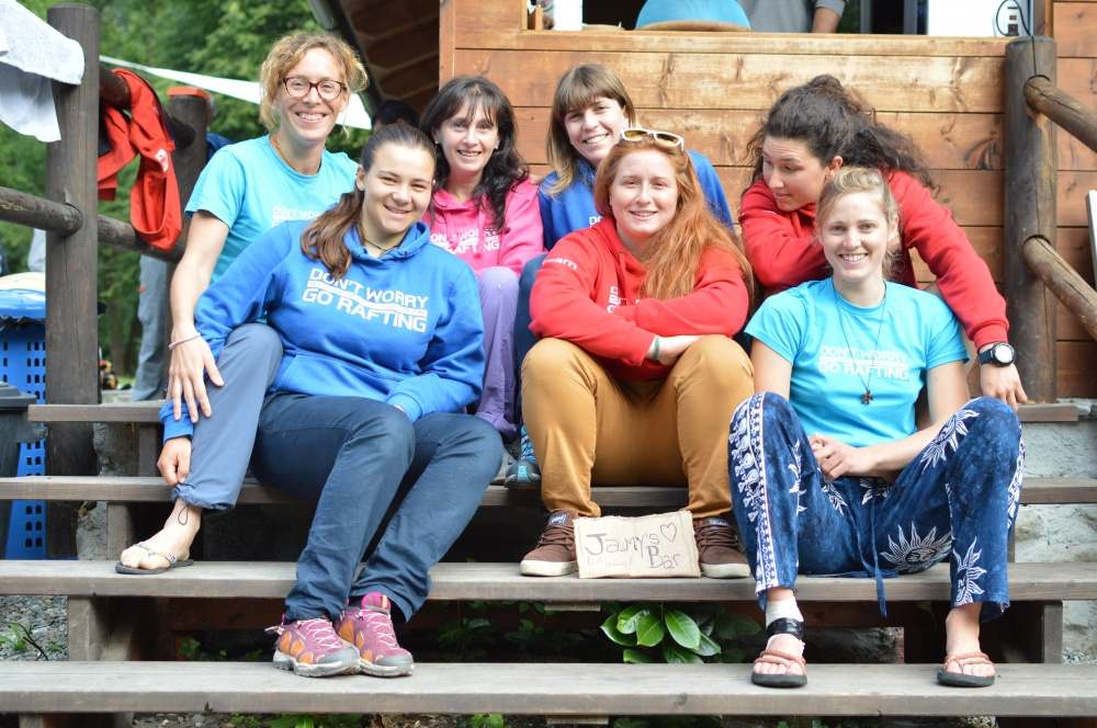 Le donne del sesia rafting Team stagione 2018
