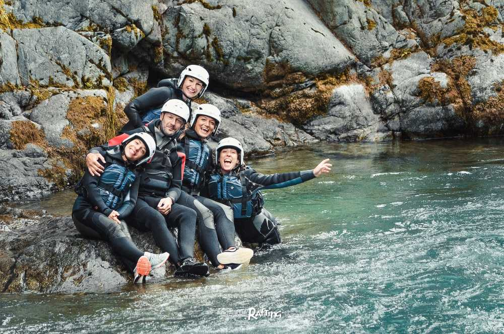 Canyoning nelle Gole del Sesia