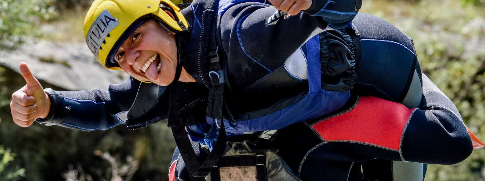 Simpatici educatori per i Sesia Rafting camp
